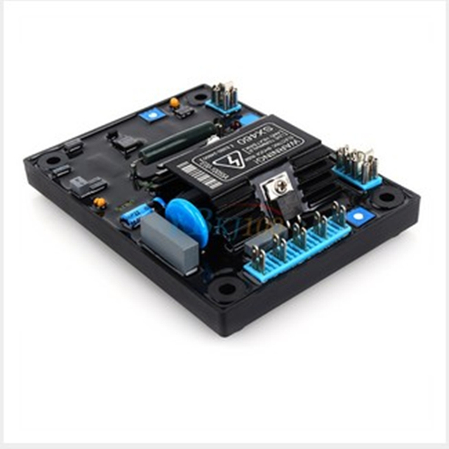 Black Automatic Voltage Regulator AVR SX460 for Generator Free Shipping