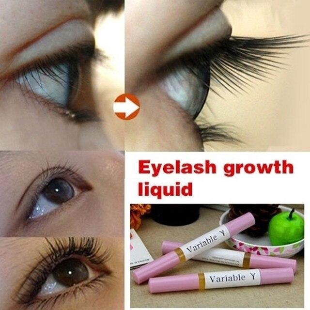 0286bd732ec 2017 Makeup Brand Powerful Eyelash Growth Treatments Liquid Serum Enhancer  Eye Lash Longer Thicker (Color: Pink)