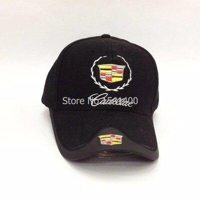Prix pour Nouveau arrivé Pour 4 saisons Cadillac Voiture Os sun Os Profession Casquette de baseball 4 couleurs Chapeau