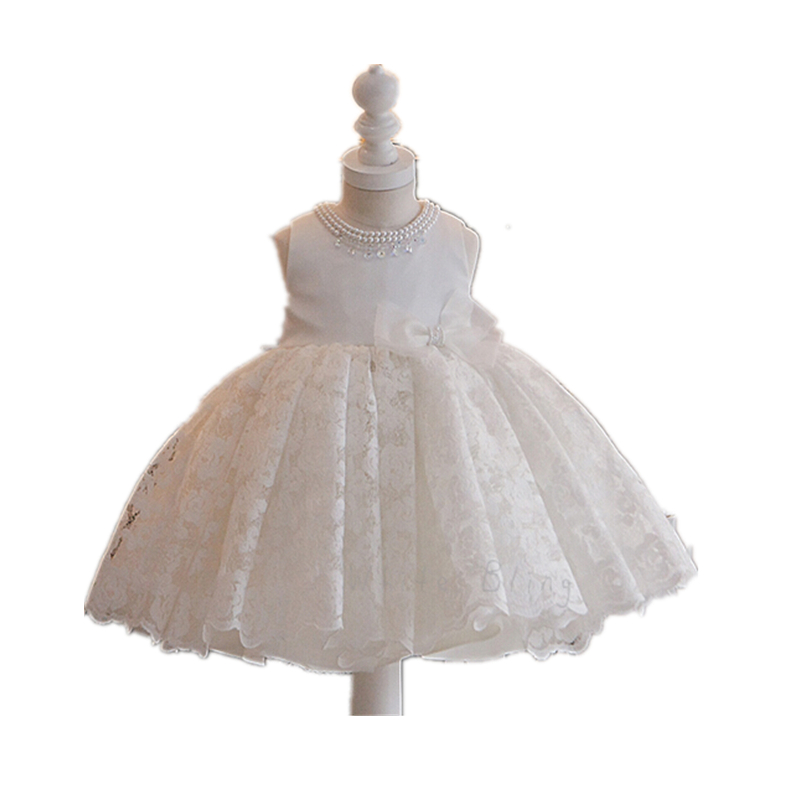 BBWOWLIN Baby Flower Girl Dresses for 1-6 Years Toddler Birthday Party Wedding 9073