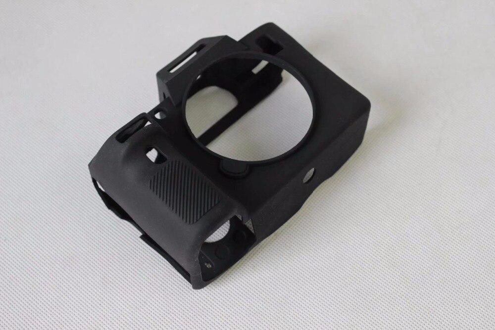 Niza suave caucho de silicona sistema sin espejo cámara de protección del cuerpo caso cubierta de piel para SONY A73 A7RM3 A7R3 III A73 A7II a7R2