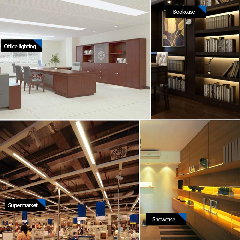 LED Batten Linear Tube Light 2FT//3FT//4FT  Modern Ceiling Surface Mounted Lamp