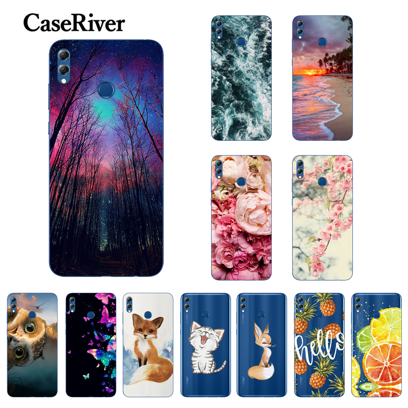 Case For Huawei Honor 8X Phone Case Soft TPU Back Cover For Honor 8 X 8X Silicon Cases Protective For Coque Honor8x Funda
