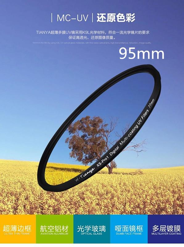 Prix pour WTIANYA 95mm Slim XS-Pro1 Numérique Multi-revêtement UV Filtre Pour 95mm DSLR SLR Caméra MC UV Ultraviolet Protecteur d'objectif