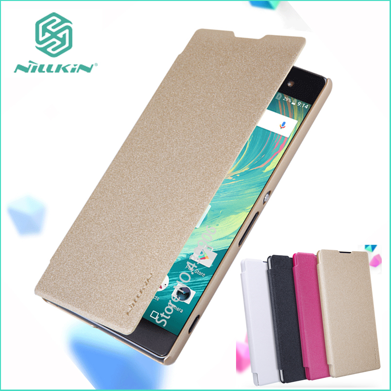 Nillkin For Sony Xperia XA Ultra Case Hight Quality Flip Leather Smart Case Sleep Function For