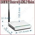 Английский Прошивка 6000 В молниезащиты Tenda W150D 150 М Беспроводной 150 Мбит ADSL2 + Gateway All-In-1 Модем-Маршрутизатор 802.11ngb