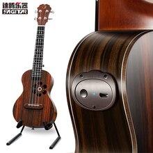 Ukulele Uke Ukelele S1 inteligente APP 23 pulgadas inteligente para principiantes Todo añadir-Pickup 4 cuerdas de la Guitarra de Palo de rosa
