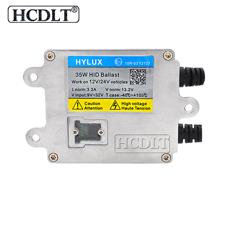HCDLT AC 35W Fast Start HID Xenon Ballast Reactor Hylux A2088 Digital Slim Ballast For 35W Yeaky Cnlight Heartray Xenon HID Kit