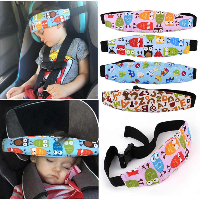 Short-Term Travel Sleeping Head Support Pad Pillow for Child Auto Car Vehicle Seat Headrest Kids Children Outdoor Car Seat Sleep