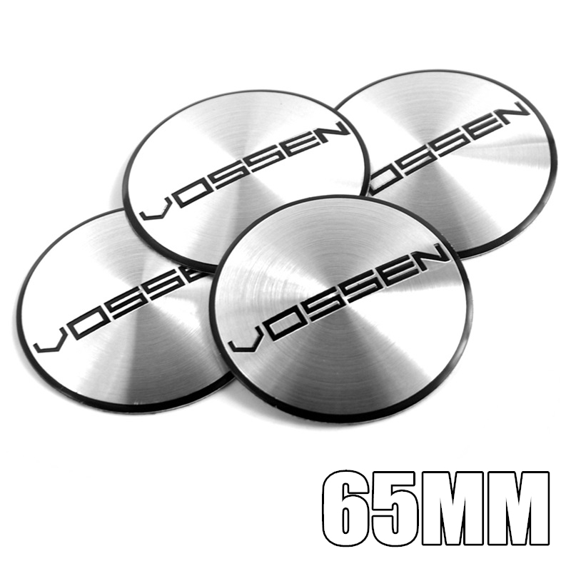 4 Pcs Hre Logo Emblem 65mm Wheel Center Decal Badge Car Sticker