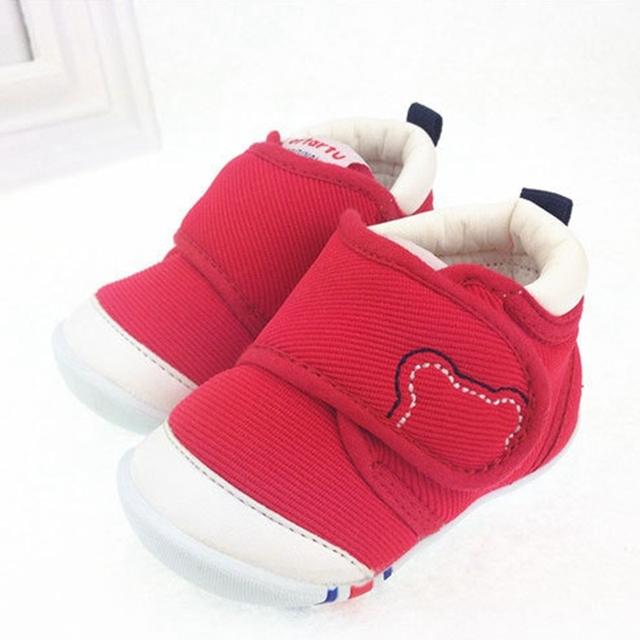Nuevo Unisex Infantil de Algodón Bebé Caliente Zapatos de Suela PU Anti antideslizante Sapatos Meninas Menino Saludable Casual Zapatos de Bebé Niño Niña XBX01