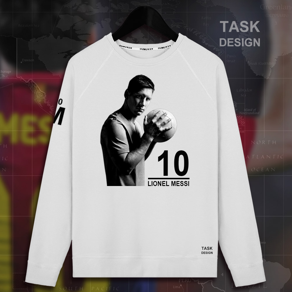 bf91c5074 men pullovers hoodies lionel messi leo sweatshirt m10 clothing mens