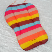 Baby Stroller Rainbow Soft Cushion Pad