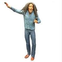 18 CM Simulación NECA Bob Marley Reggae Originador ABS Muñecas Modelo Juguetes Anime Figura de Acción de Modelo Juguetes Para Niños Juguetes Regalos