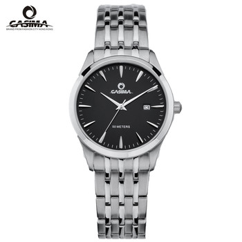 цена CASIMA Luxury Brand Watch Men Women Couple Lover's Waterproof Casual Black Quartz Wrist Watch Clock Relogio Masculino Feminino онлайн в 2017 году