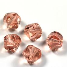 Shangquan AAA Crystal Loose Beads (100PCS/LOT) 10MM Twist Glass Bead Bulk Wholesale