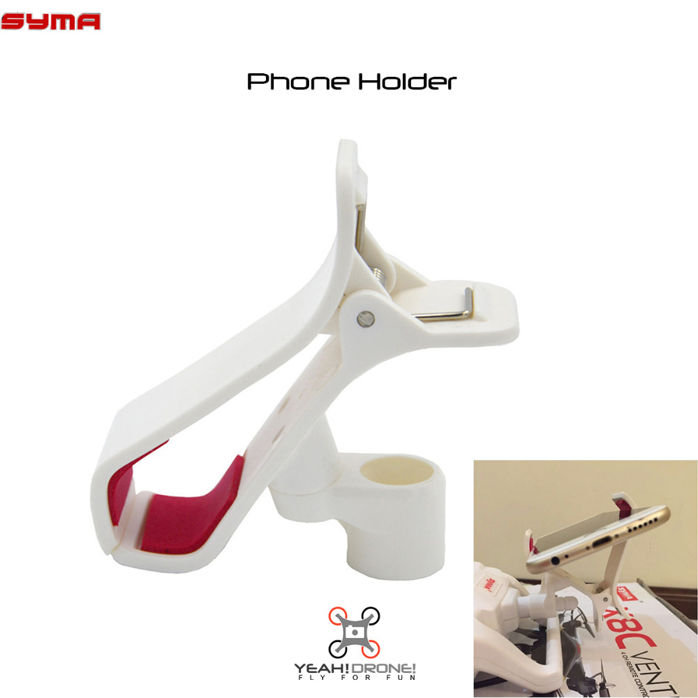 YEAHDRONE FPV Mobile Phone Holder Clip Mount for SYMA X8W X8C X8G Quadcopter Parts Accessory Drone Spare Parts