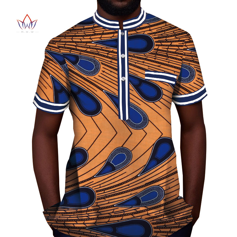 bb7d330b1 Trending men african fashion dashiki design print shirt mandarin collar  personal customized african dashiki men clothes WYN815