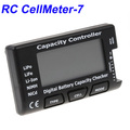 RC CellMeter-7 Digital lipo battery capacity checker for RC helicopter Li-ion NiMH Nicd