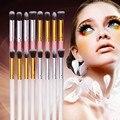 4 UNIDS Pro Cosméticos Fundación Mezclando Herramienta de Maquillaje de Sombra de Ojos Sombra de Ojos Cepillo de La Venta Caliente Profesional de maquillaje Cepillos herramientas