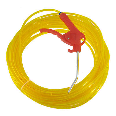 цена на 6mm x 4mm Clear Yellow PU Hose Pipe Trigger Air Duster Blow Gun 20M 65Ft