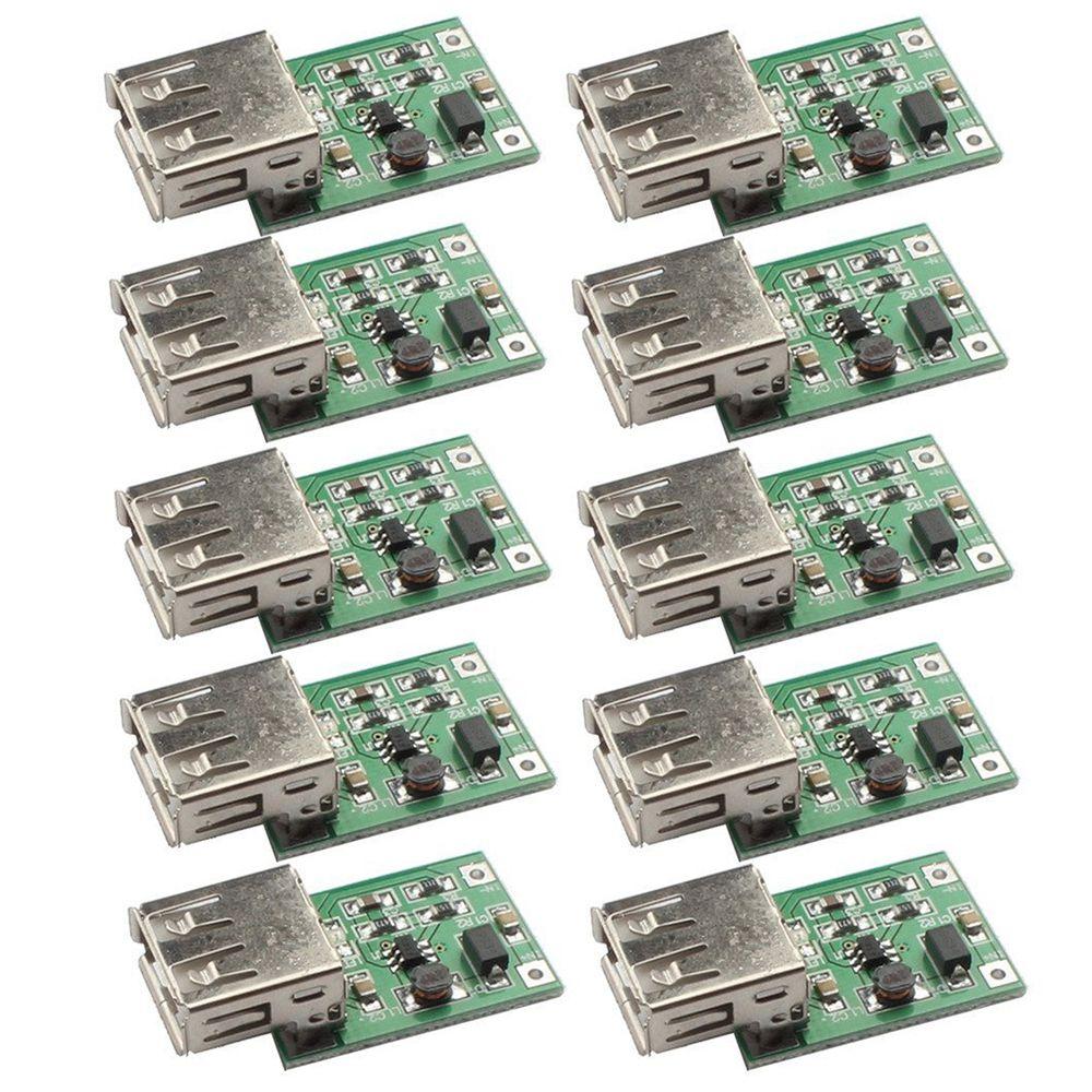 JFBL Hot 10PCS PFM Control DC-DC Converter Step Up Boost Module 600MA USB Charger 0.9V-5V to 5V Power Supply Module