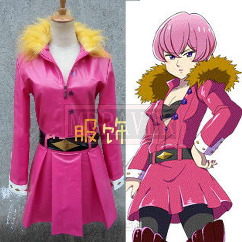 The Seven Deadly Sins Veronica Liones cosplay costume Custom Any Size