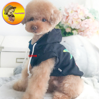 Custom Two Color Pet Clothes Dog Hoodies Spring Autumn Classy Dogs Clothing Vestidos Pet Apparel Dog