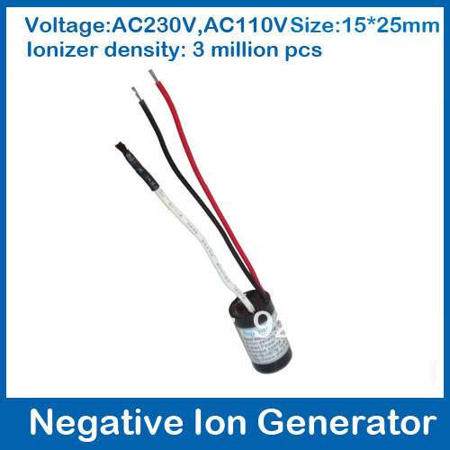 free shipping ionizer negative ion generator/anion generator /ionizer parts for LED/hair dryer (15*25cm)