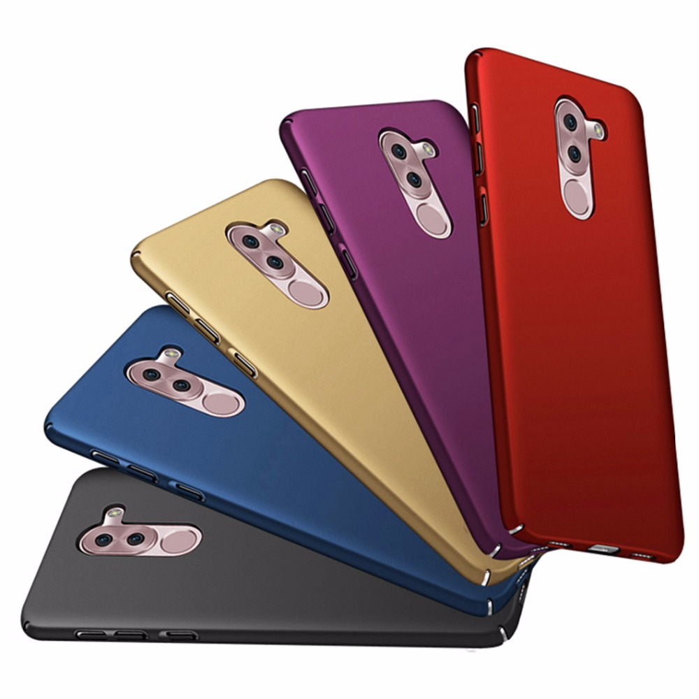 For Huawei 6x Case Cover Hard For Huawei Honor 6x Cover 6a Play Huawei GR5 2017 Case Capa Frosted For Honor 6x Funda 6P Case