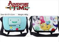 Anime Adventure Time met Finn en Jake polyester schoudertas gedrukt w/Jake De Hond