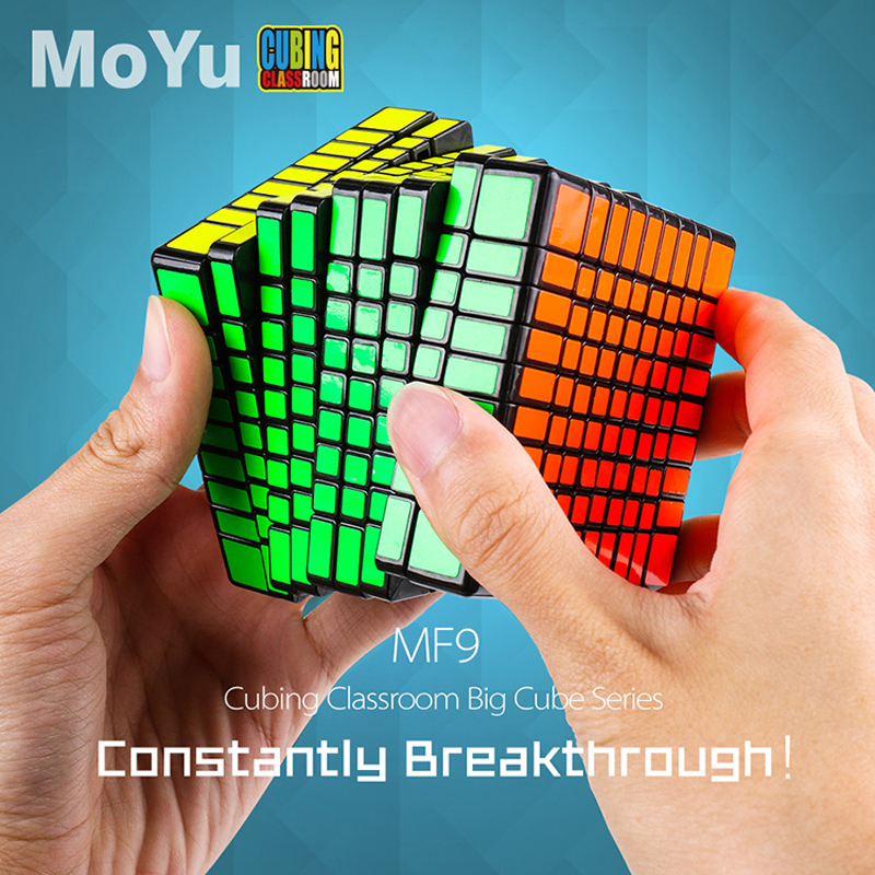 MOYU MF9 Cubing Classroom 9*9*9 Magic Cube Professional Speed Puzzle 9x9 Cube Fidget Magico Cubo Educational Toys Kid Gifts цена