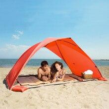 Приюты палатка, шатер тент уф-защита навес вс пляжа палатки сверхлегкий тени