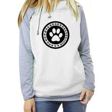 PAW HEART Hooded Long Sleeve Warm Pullover/Sweatshirt – Plus Sizes