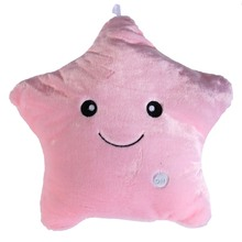 CV Cushion with Cover Star Decorative Pillows Luminous Cotton Pillow
