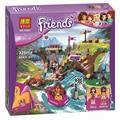 BELA Amigos 10493 Campamento de Aventura de Rafting Building Blocks Set Modelo Compatible Lepin Amigos de Las Niñas los niños