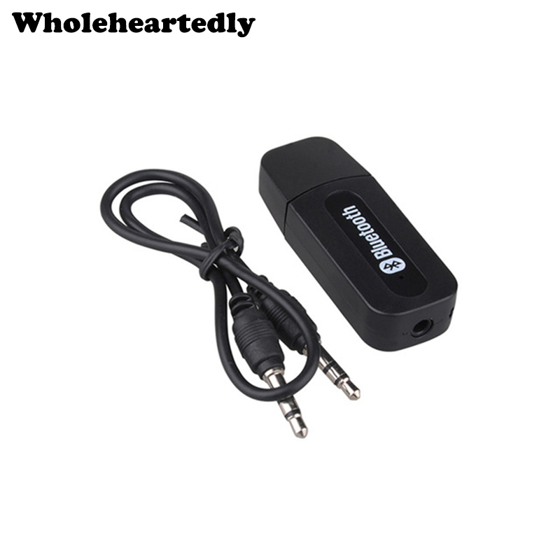 Brand New Wireless 3.5mm Jack USB Bluetooth Music Audio Receptor Dongle Adaptador para Aux Car PC para Iphone para Samsung Venta caliente