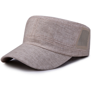 HT1772 Spring Summer Casual Army Caps Co...