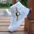 2017 high-top shoes male Korean casual  skateboard shoes tide tide shoes  lace student's shoes