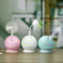 240ml Basketball Humidifier Rechargeable Wireless Portable Diffuser USB Aroma For Home Car Office Atomizer
