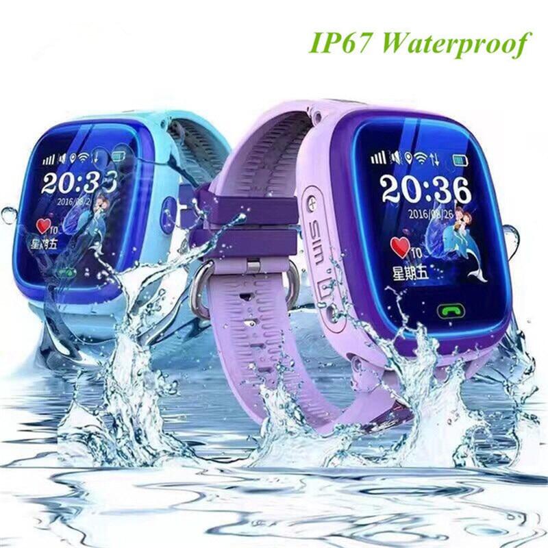 Waterproof DF25 Children Swim touch phone smart baby watch SOS Call Location Device Tracker Kids Safe Anti-Lost Monitor все цены
