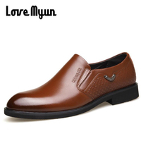 100 Genuine Leather Full Grain Leather Men Luxury Brand Leather Casual Driving Oxfords Shoes Men Loafers