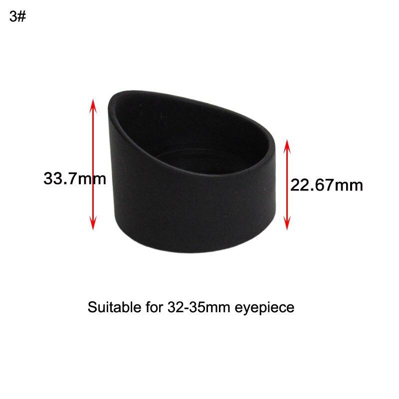 2 шт. глаз Щитки защитные очки Защита глаз для микроскопа/телескоп окуляр 33 мм 36 мм резиновые eyeguards