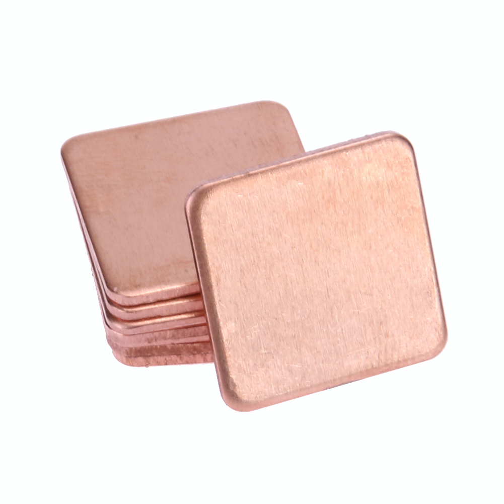 Nice 10pcs Pure Copper Heatsink Shim Thermal Pad Barrier For Laptop Graphics Card 20mmx20mm 0.3mm 0.5mm 0.8mm 1.0mm 1.2mm Orders Are Welcome. Power Tool Accessories Tools