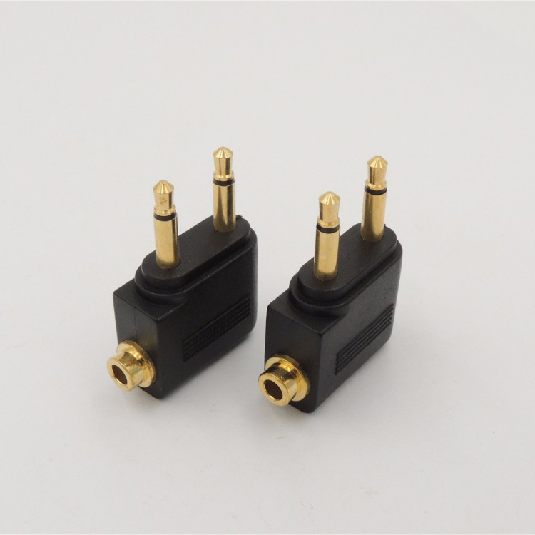 "10x SHURE Gold 3.5mm 1//8/"" Stereo Male Audio Soldering Connectors w//black housing"