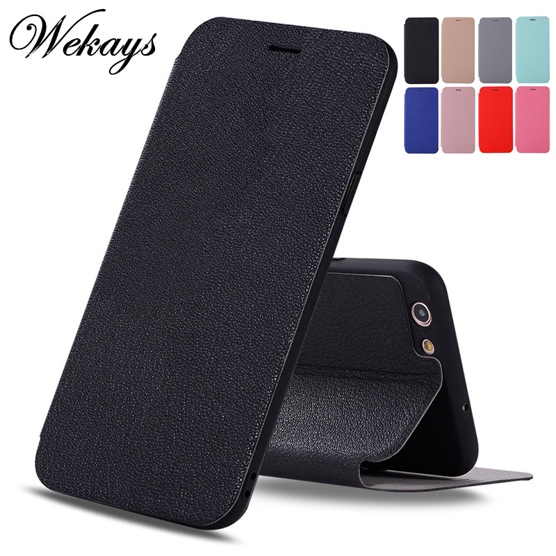 Wekays Case For OPPO A59 A59S A 59 Ultrathin Business Leather Flip Funda Case sFor OPPO F1S Cover For OPPO A71 A 71 Phone Cases