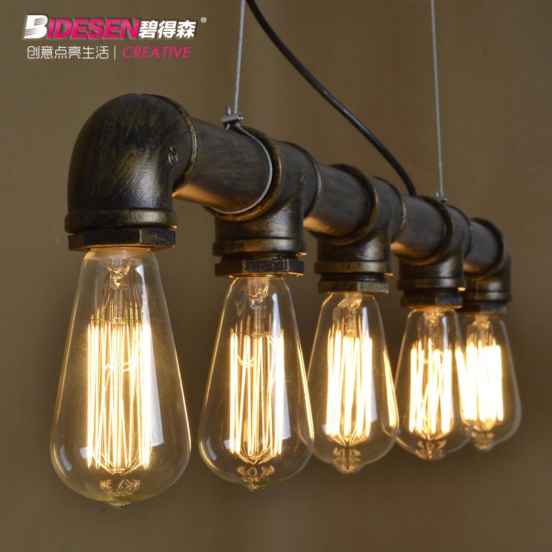 FREE SHIPPING pendant light Cafe bar lamp act the role ofing restoring ancient ways The creative Pendant lam