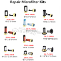 Marca Defus Micro Filtro de Inyector De Combustible Auto Kit de Reparación de Piezas de Repuesto Para Los Coches de Japón Microfiltro Con Diferente Tipo de Venta Al Por Mayor Caliente