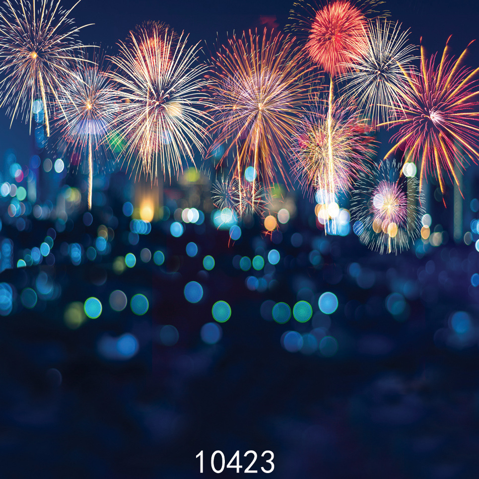 New Year Fireworks Photo Background Dream Photograph