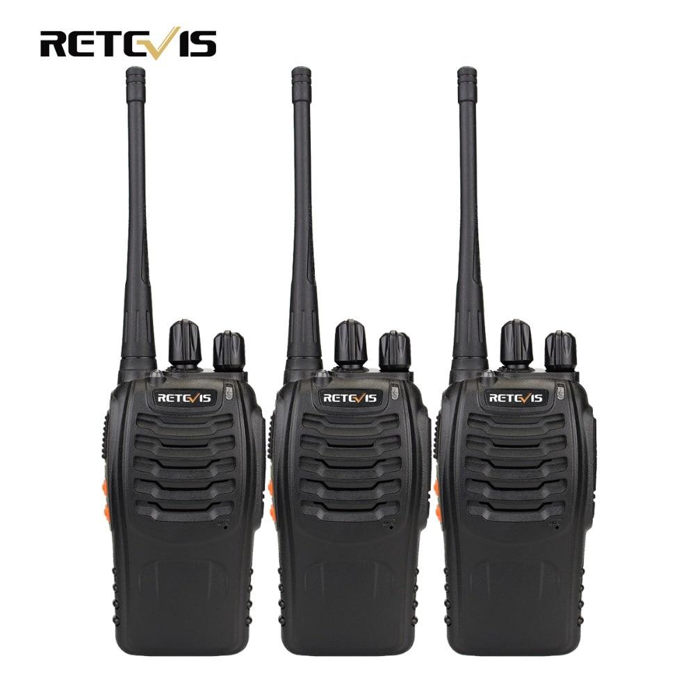 3 pcs H777 16CH Retevis Walkie Talkie UHF 400-470 mhz Transceptor de Rádio Amador HF Forma 2 Rádio Comunicador handy A9104